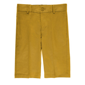 Boy's Casual Shorts Slim Fit Yellow
