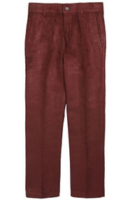 Boy's Rust Suede Slim Fit Pants