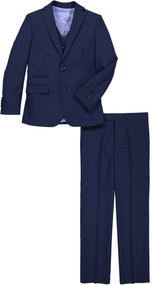 Boy's Navy Blue Suit