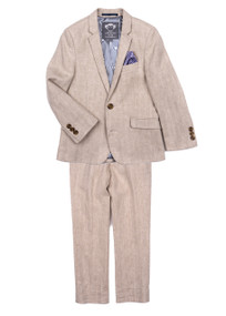 Beige Appaman Boy's Suit