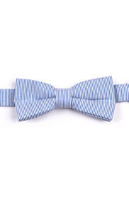 Appaman Boy's Blue Bengal Stripe Bow Tie