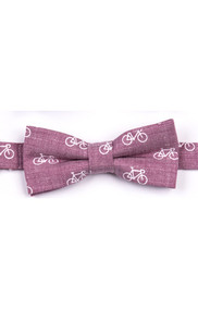 Appaman Boy's Raspberry Bikes Bow Tie