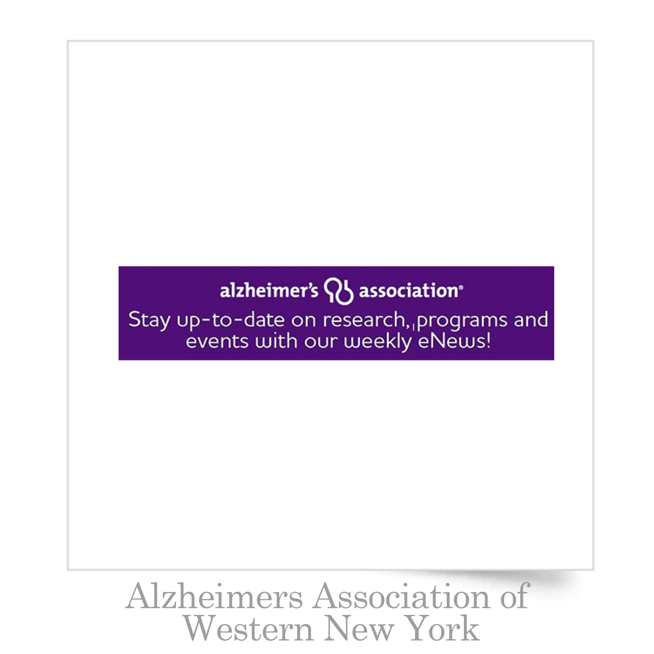 Alzheimers Association of Western Newy York