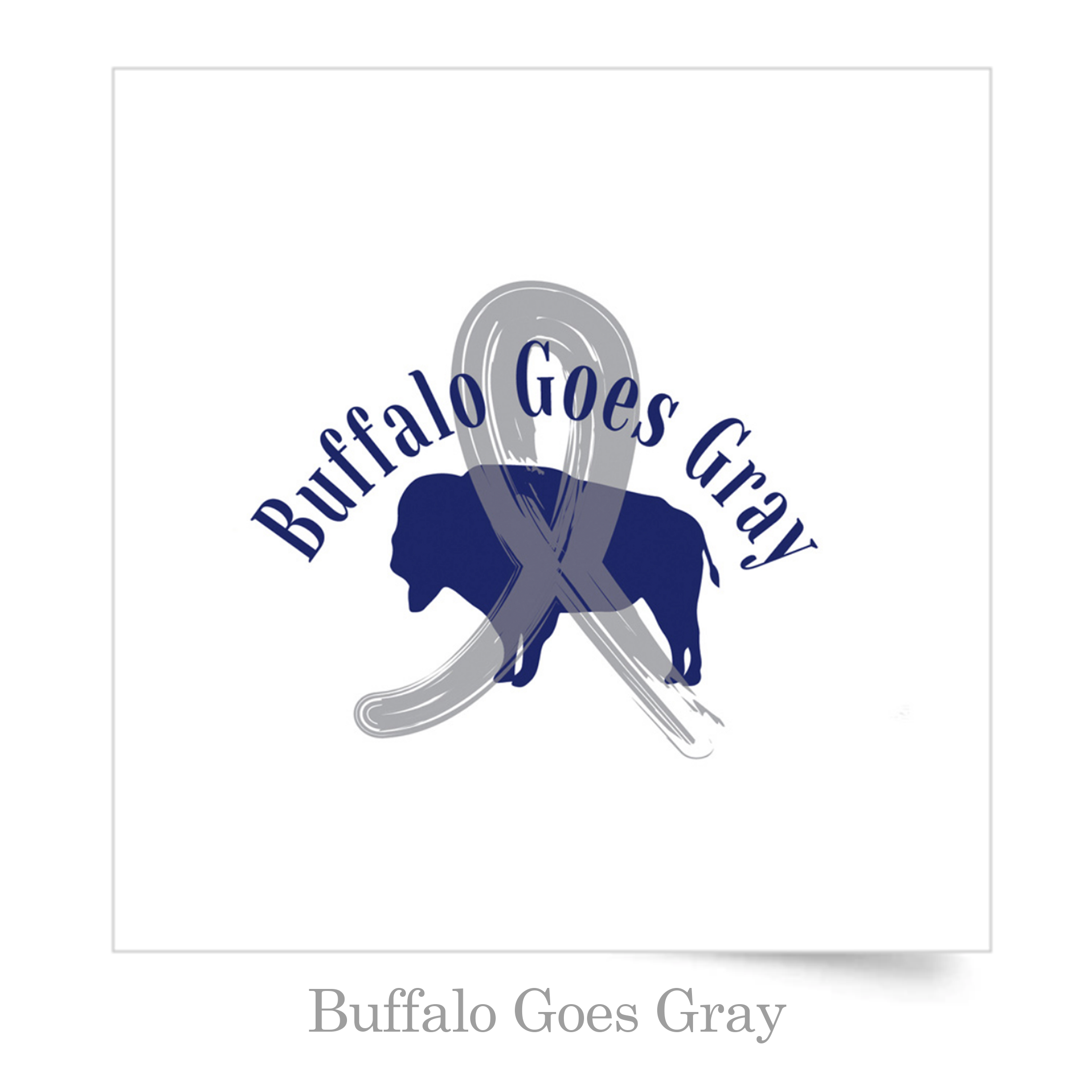 buffalo goes gray