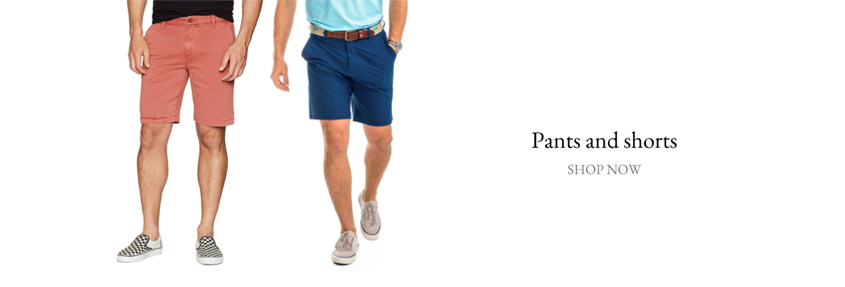 pants and shorts for men