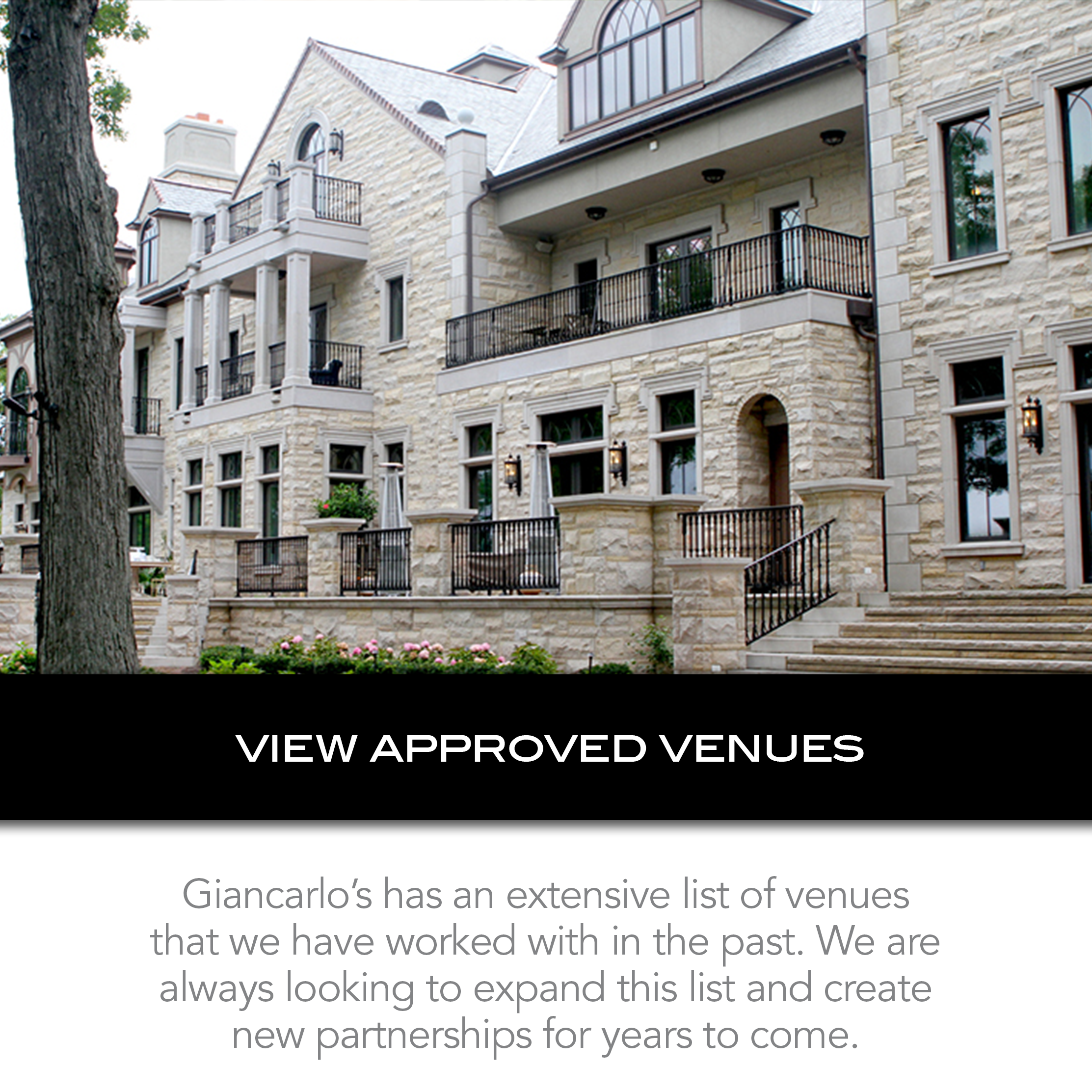 view approved venues