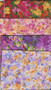 Monet Flowers Themed Fat Quarter Fabric Pack