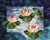 Waterlilies Paper Piecing Quilt