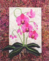 Phalaenopsis Paper Piecing Quilt