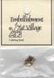 """Metal Ladybug Bead – A small cute metal ladybug bead – 3/8"""" long."""