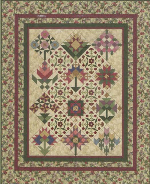 A Quilter S Garden Quilt Patterns By Lynette Jensen 81
