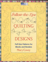 Follow-the-Line Quilting Designs Front Cover