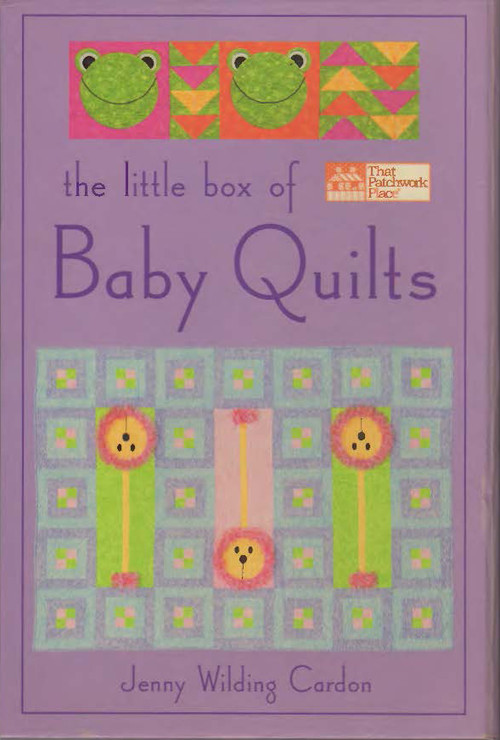 The Little Box Baby Quilts Front Cover