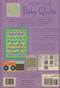 The Little Box Baby Quilts Back Cover
