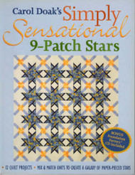 Simply Sensational 9-Patch Stars Front Cover