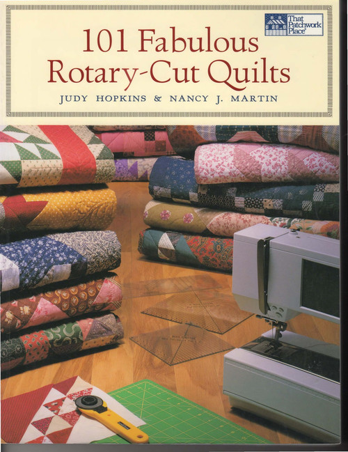 101 Fabulous Rotary-Cut Quilts Front Cover