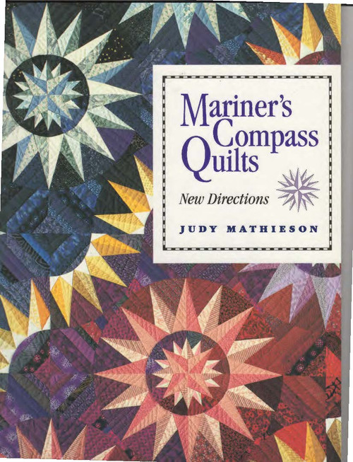 Mariner's Compass Quilts II Front Cover