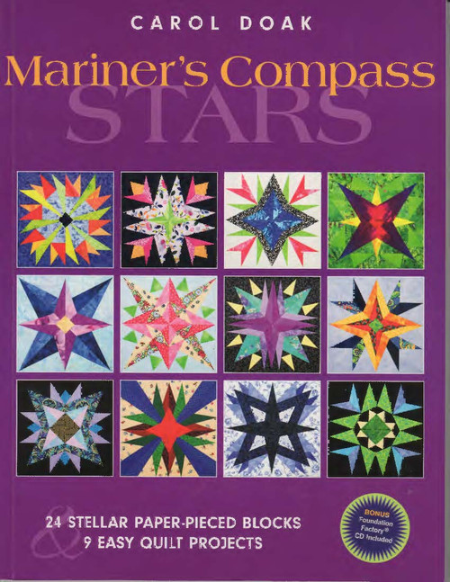 Mariner's Compass Stars Front Cover