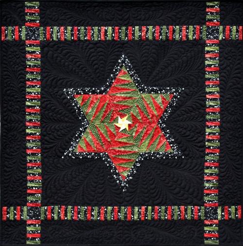 Christmas Dreams & Heavens Light Foundation Paper Piecing Quilt