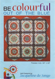 Out of the Blue foundation Paper Piecing Front Cover
