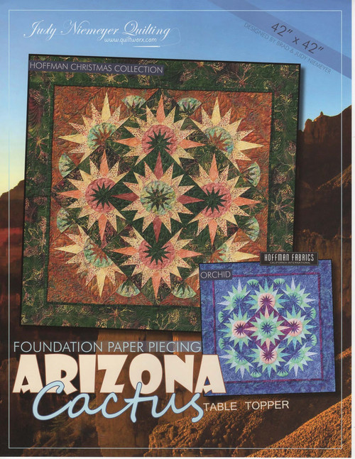 Arizona Cactus Table Topper Front Cover