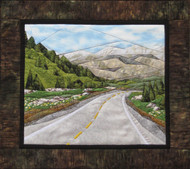 Down the Road Quilt Block