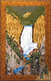 Yellowstone Falls Quilt