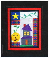 Haunted House Paper Piecing Quilt