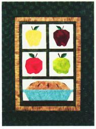 Mom's Apple Pie Paper Piecing Quilt
