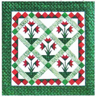 Carolina Lily Paper Piecing Quilt