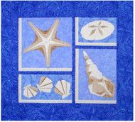Starfish & More Paper Piecing Pattern Quilt