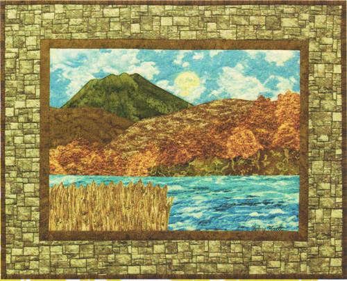 River View Bella Vista Applique Pattern
