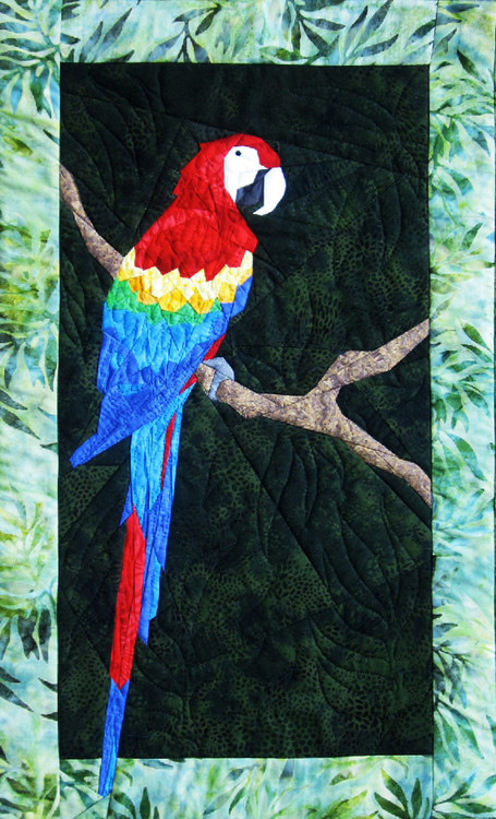 Parrot New Form Of Foundation Paper Piecing Picture