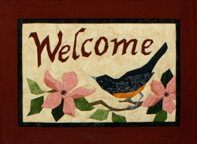Welcome Picture Piecing Quilt