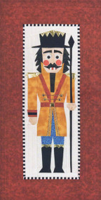Wolfgang The Nutcracker Foundation Paper Piecing Quilt