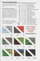 Field of Flowers Paper Piecing Quilt Fabric Chart
