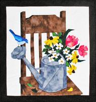 Garden Treasures Paper Piecing Quilt