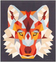 The Wolf Abstractions Foundation Paper Piecing Quilt
