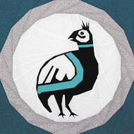 Mimbres Quail Foundation Paper Piecing Quilt Block