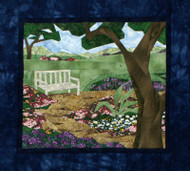 Garden Path Picture Piecing Quilt Block