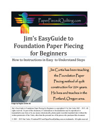 Jim's EasyGuide to Foundation Paper Piecing for Beginners