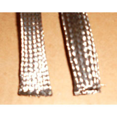 "1/8"" Stainless Steel Expandable Braided Sleeving (Tubular)"