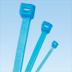 "4"" Tefzel Cable Ties - Aqua (100/pack)"