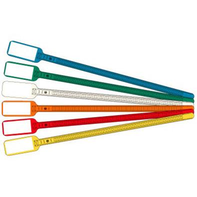 """Write-on Cable ties 6"""" length 1x5/8"""", 100/bag"""