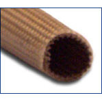 5 AWG Size Ben Har 1151-FR (Liquid Silicone Coated) Fiberglass Sleeving - 125 ft