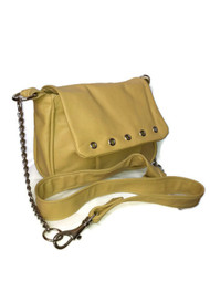 Cream Beige Leather Crossbody Handbag - women's bags - leather messenger bag - handmade handbag for her - suri