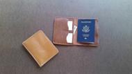 Leather Passport Wallet, Passport Wallet, Travel Wallet, Passport Case, Leather Passport Holder, Document Wallet