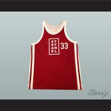 1991 Exhibition Game Scottie Pippen Stefanel Trieste 33 Basketball Jersey