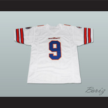 Adam Sandler Bobby Boucher The Waterboy Mud Dogs Football Jersey White