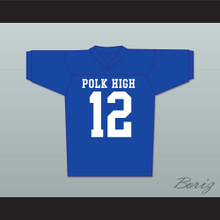 Al Bundy 12 Polk High Football Jersey Married With Children Ed O' Neill Stitch Sewn